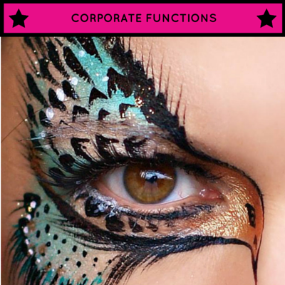 eye designs, face painting, glamour, evening events, professional, artists, artistry, makeup
