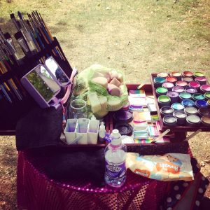 Face painting, kit, the glitterbox, birthdays, parties, celebrations, artist
